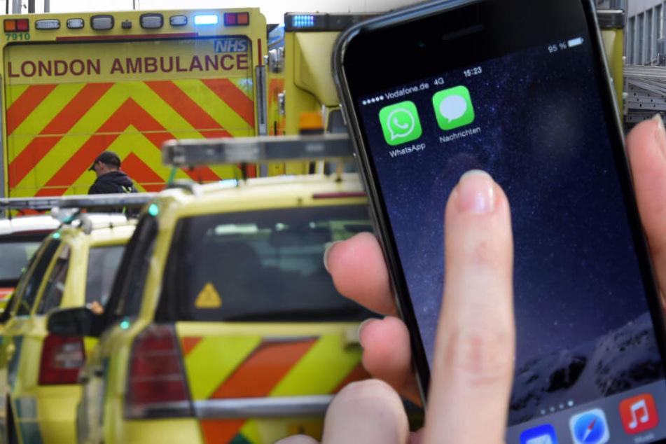 Hilferuf per WhatsApp: Frau rettet 1000 Kilometer weit entfernten Mann wohl das Leben