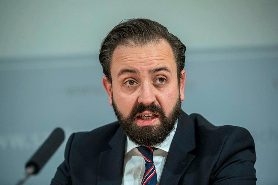 Sachsens Justizminister Sebastian Gemkow (38, CDU).