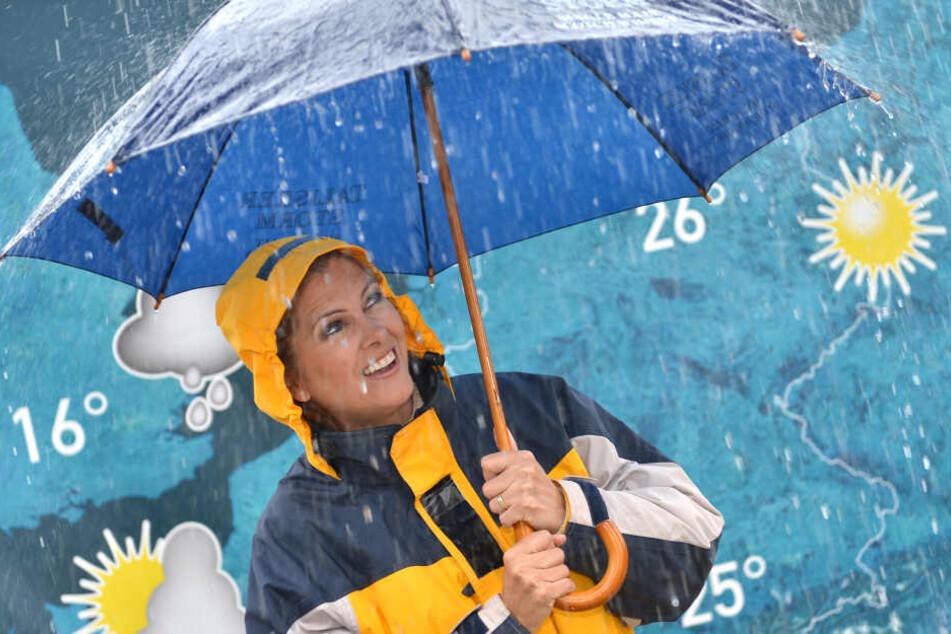 Maxi Biewer (54) ist als Wettermoderatorin nicht mehr aus dem TV-Programm wegzudenken.