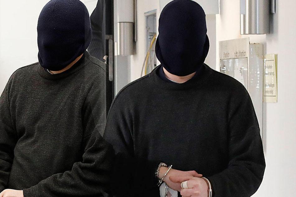 Christoph H. (25) ist wegen Totschlags angeklagt, will sich nur gewehrt  haben.