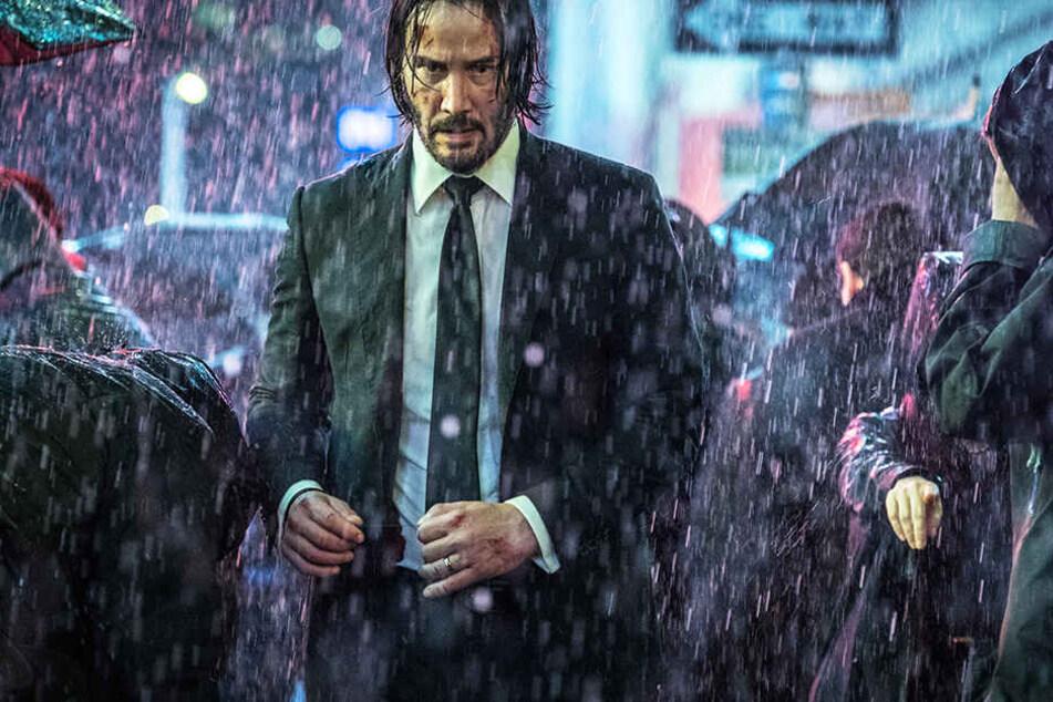 Die Reihe um John Wick (Keanu Reeves) wird 2021 mit einem vierten Film fortgesetzt.