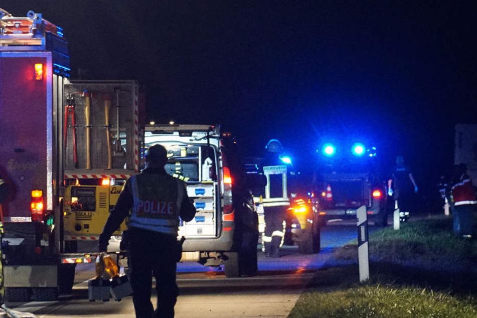 Auf der A9 überschlug sich in der Nacht zu Donnerstag ein VW-Van, nachdem er von hinten gerammt wurde. (Symbolbild)