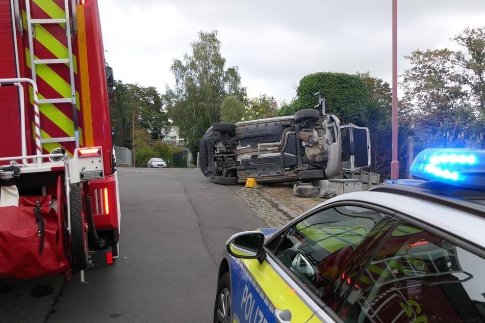 Laut Polizei soll ein missglücktes Wendemanöver der Grund für den Crash gewesen sein.