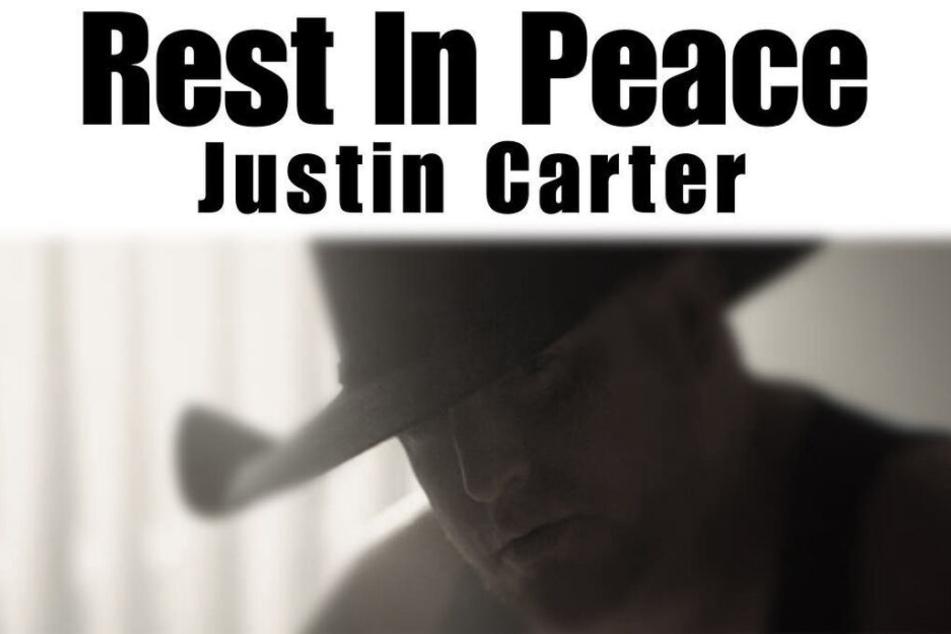 Justin Carter hat sich aus Versehen selbst erschossen.