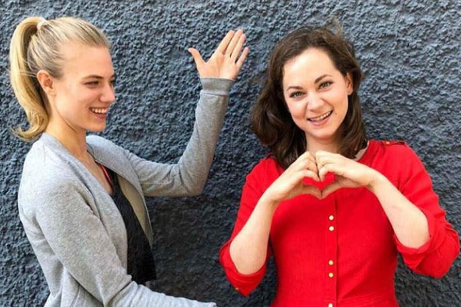 """Christin Balogh bedankt sich bei ihren Fans und kündigt zugleich ihr Comeback bei """"Sturm der Liebe"""" an."""