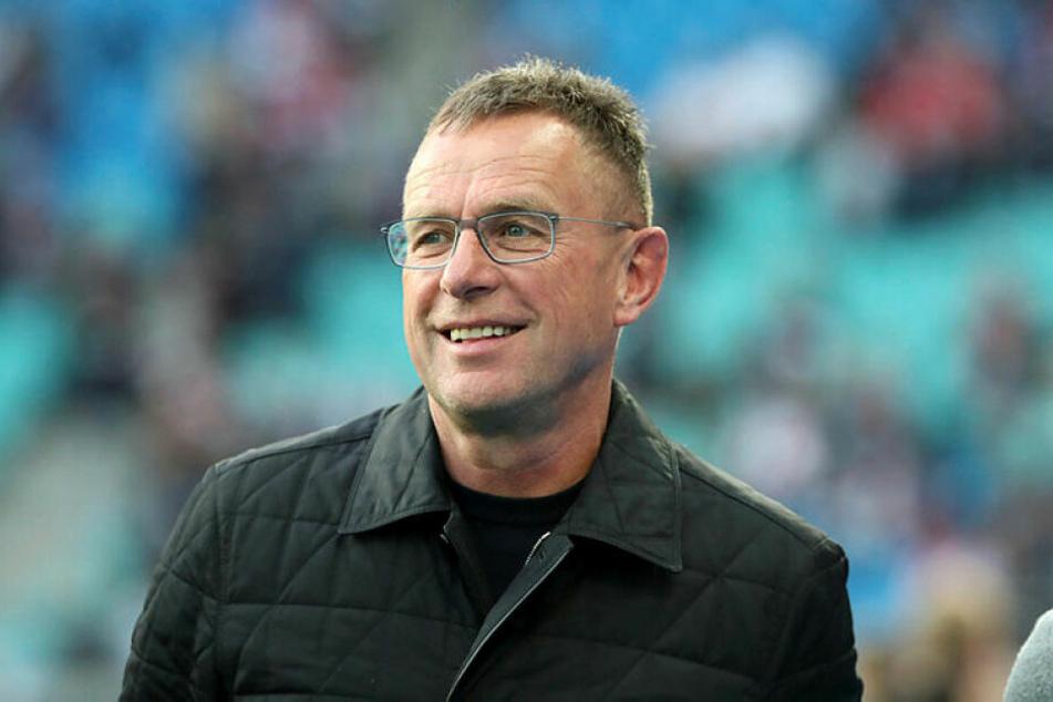Ralf Rangnick freute sich über einen 5:0-Heimsieg gegen Hertha BSC und das vierzehnte Bundesligaspiel ohne Gegentor.