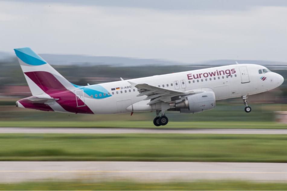 Crewmitglied in Not: Eurowings-Flieger kehrt nach Düsseldorf zurück