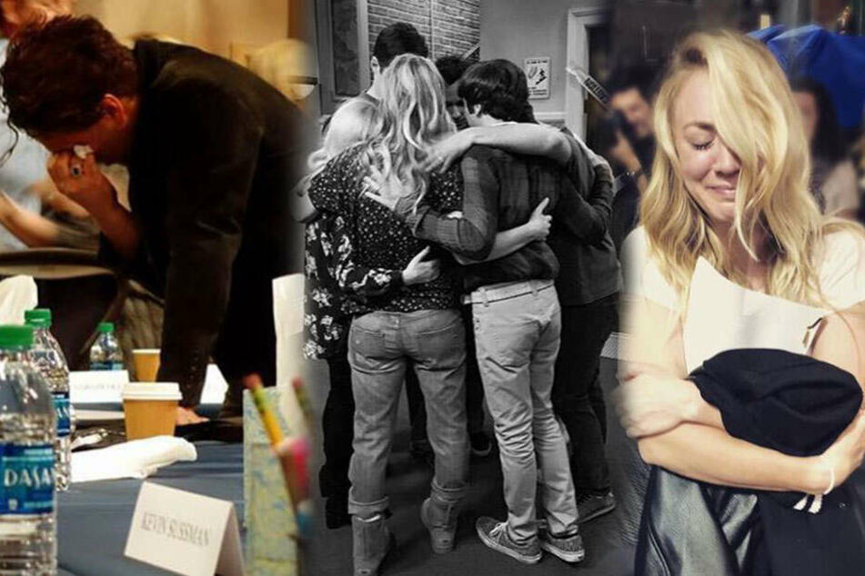 """Big Bang Theory""-Stars vergießen bittere Tränen: Was ist passiert?"