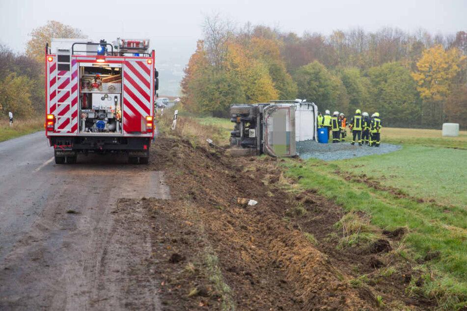 Der Unfall sorgte für Einschränkungen im Berufsverkehr.