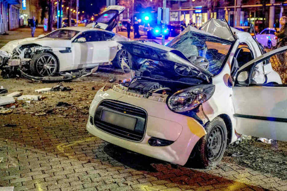 Junger Mann raste mit Jaguar zwei Menschen in den Tod: Anklage wegen Mordes