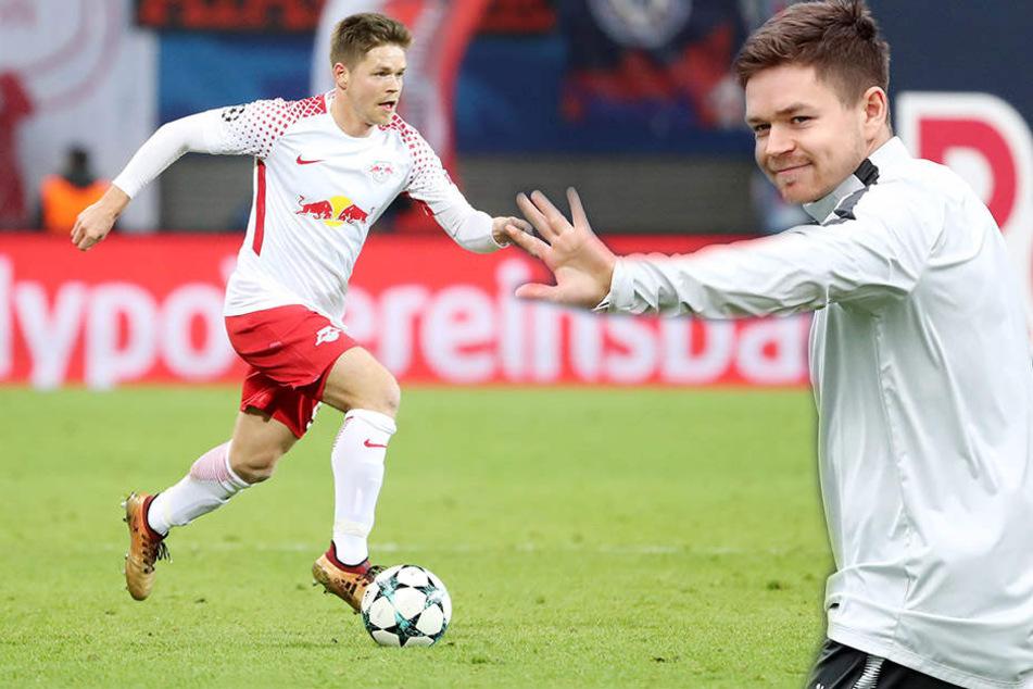 Dominik Kaiser (29) verlässt RB Leipzig im Sommer, hätte aber gern noch ein paar Jahre drangehängt.