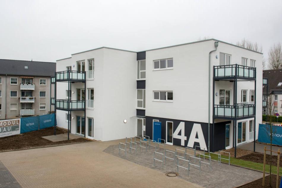 Die in Modulbauweise gefertigten Häuser sollen an der Reicker Straße errichtet werden.