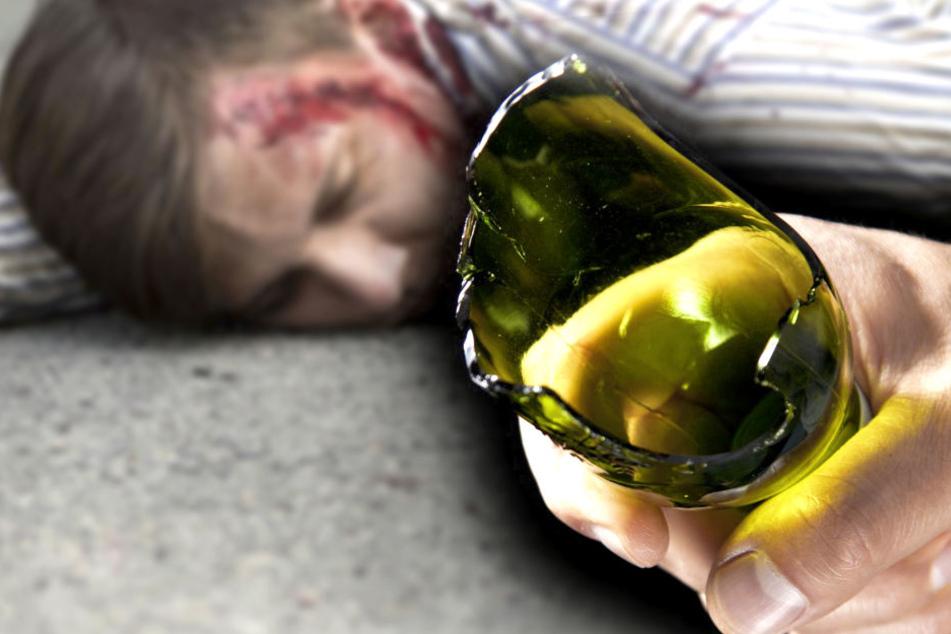 Ein 27-Jähriger wurde am Freitagabend in Riesa von drei Männern überfallen.