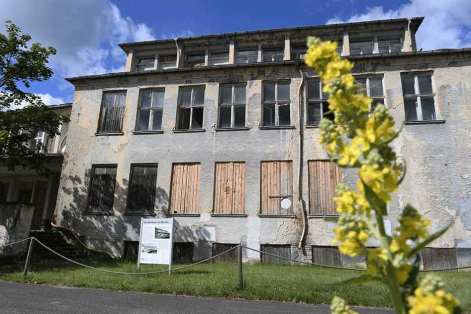In dem ehemaligen Speisesaal der Nationen sollen 100 Wohnungen entstehen.