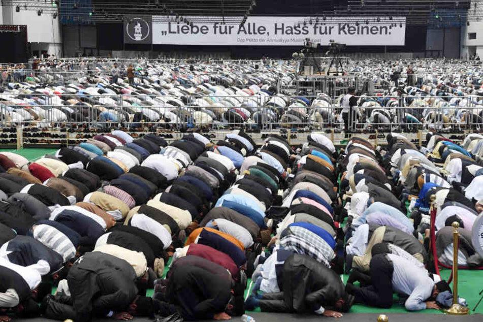 40.000 Muslime kamen: So lief die Friedenskonferenz