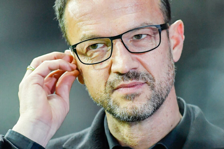 Die Aufnahme zeigt Frankfurts Sport-Vorstand Fredi Bobic im Dezember 2018 in der Commerzbank-Arena.