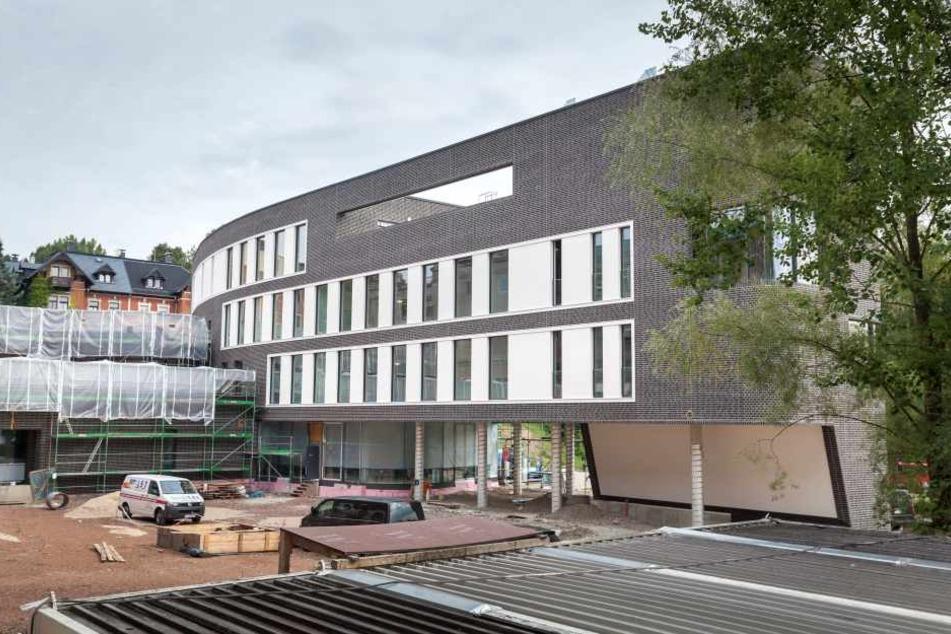 Dre Neubau des Software-Entwicklers Intenta in der Ulmenstraße ist fast fertig.