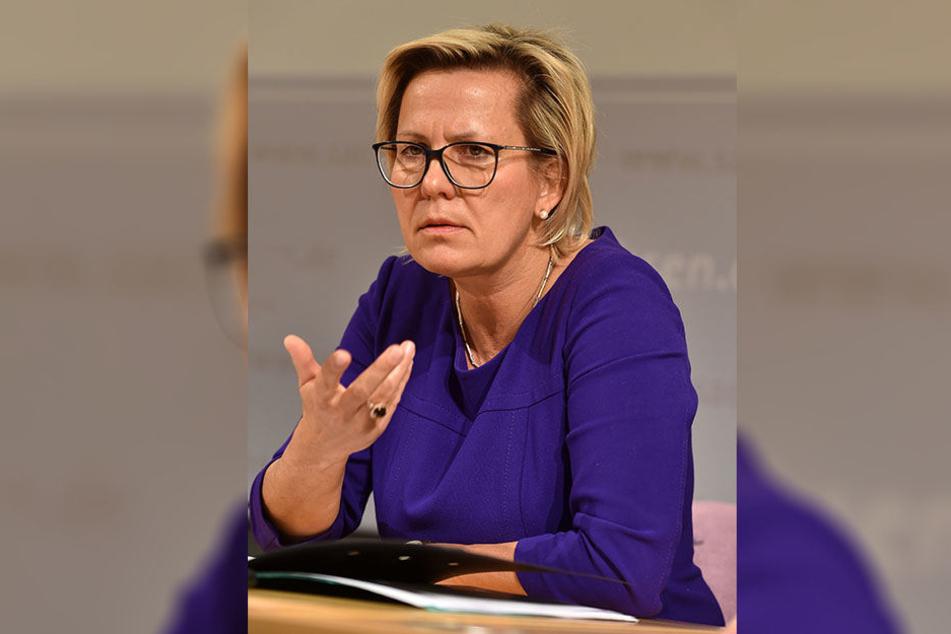 Sozialministerin Barbara Klepsch (53, CDU).