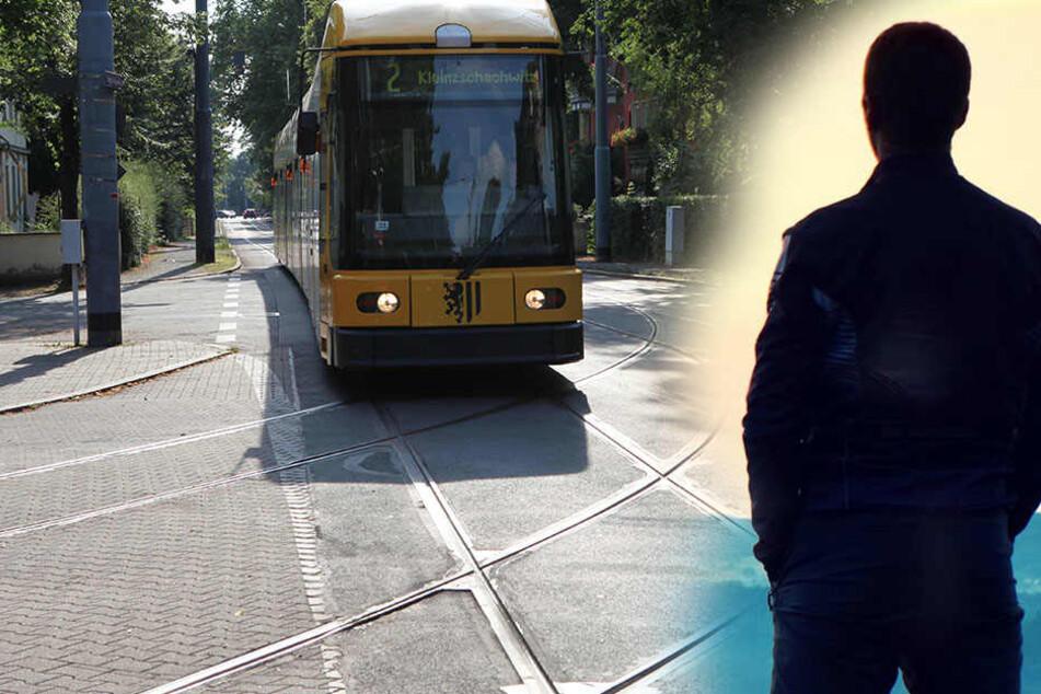 Der Mann onanierte an der Endhaltestelle der Linie 2.