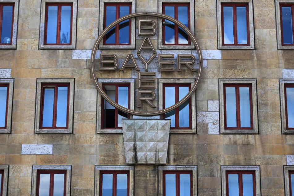 Das Logo der Bayer AG.