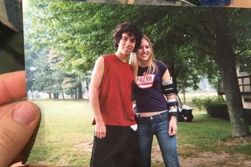 Das Foto zeigt Kevin mit seiner damals besten Freundin.