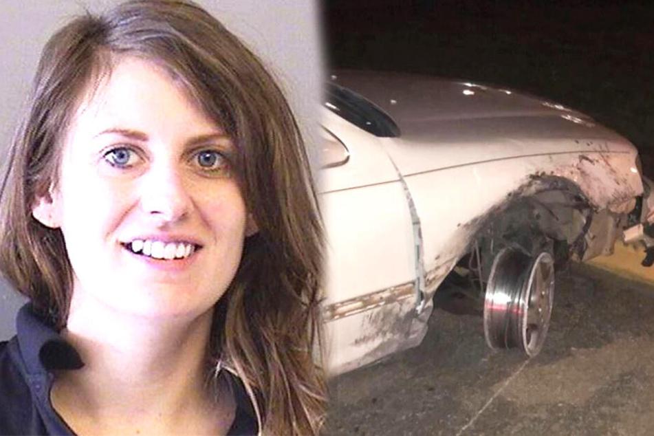 Kellnerin Amy Ann Dillon (28) erwartet eine Anzeige, falls sie an einem Unfall beteiligt war.