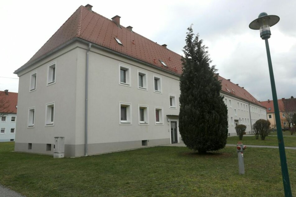 In diesem Haus in Steyr geschah die Bluttat.