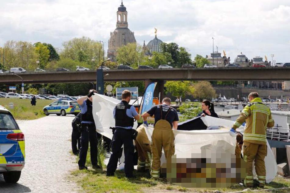 Am Donnerstag wurde eine Wasserleiche in Dresden gefunden.