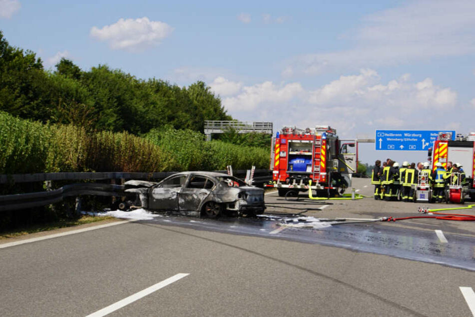 Die A81 ist in Fahrtrichtung Heilbronn zwischen Ilsfeld und Untergruppenbach voll gesperrt.