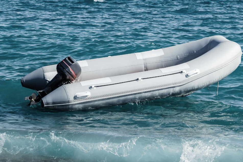 Mann tot auf Schlauchboot in der Ostsee gefunden