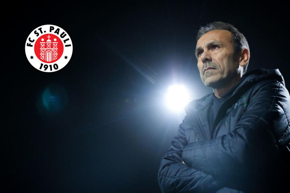 FC St. Pauli: Entscheidet Abstiegsgipfel gegen Dynamo Dresden über Schicksal von Trainer Luhukay?