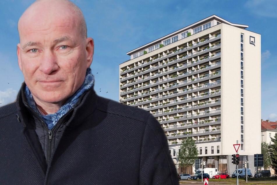 Dresden: Das Investment siecht! Gammel-Hochhaus wieder weiterverkauft