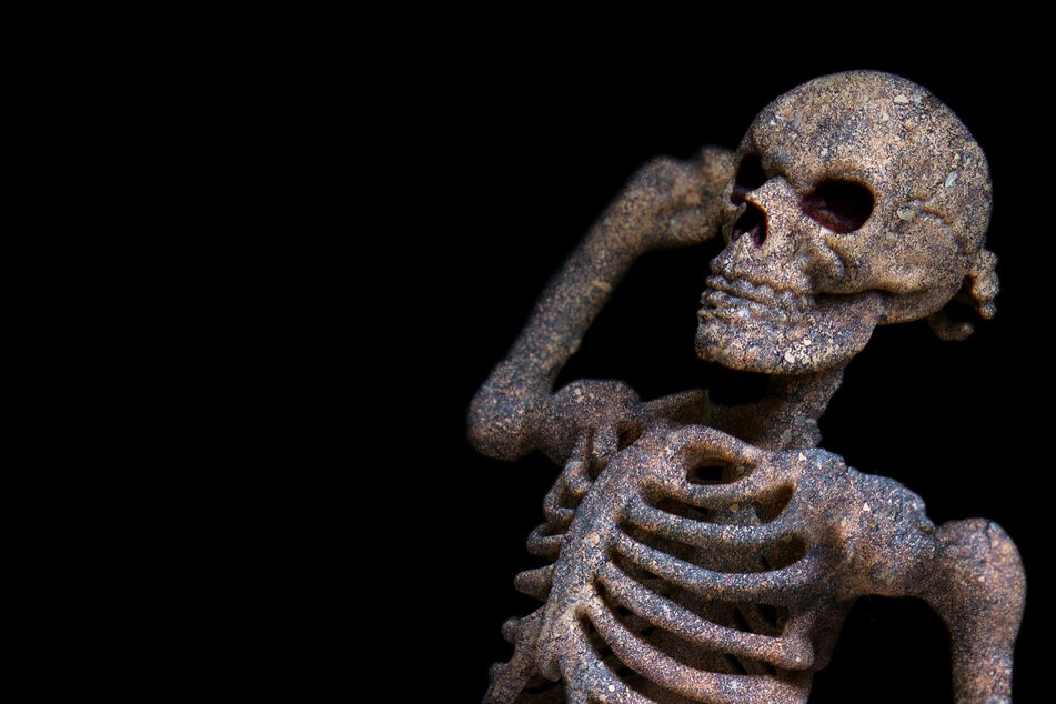 Stripping skeletons are too sexy for this Texas neighborhood