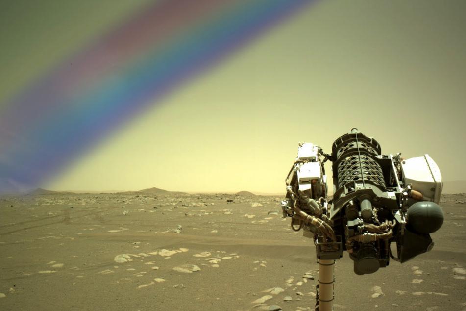 Ein Regenbogen auf dem Mars? NASA klärt kurioses Mysterium auf