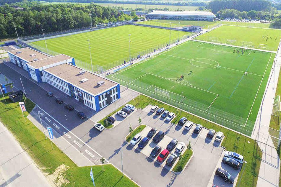 Das Trainingszentrum und NLZ wurde erst im letzten Jahr in Betrieb genommen.