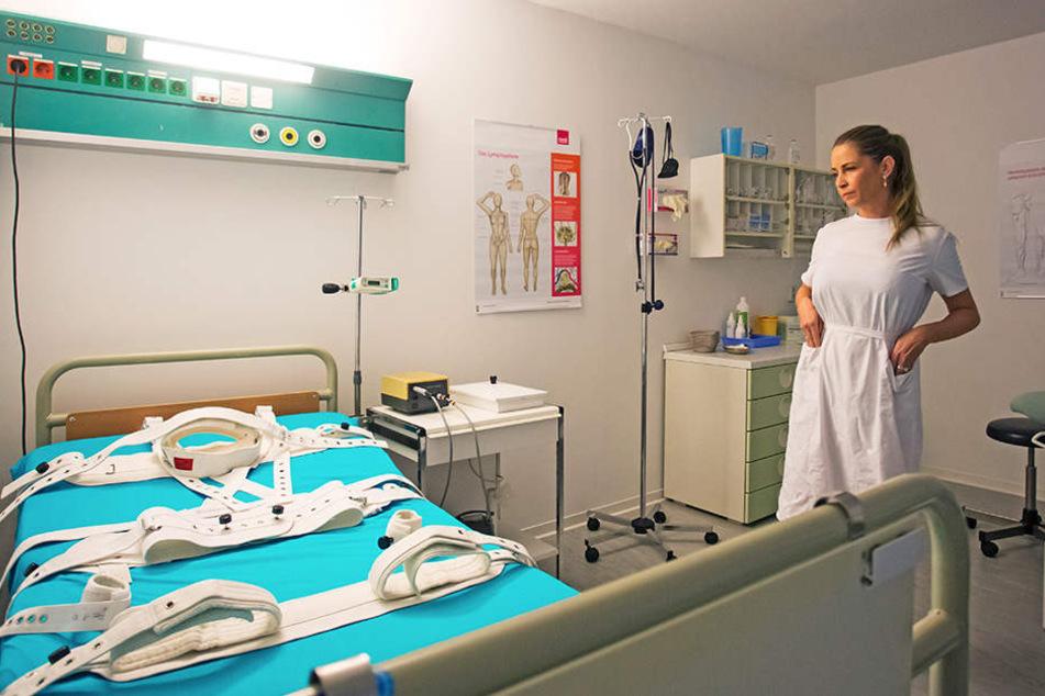 Entfesselte Lust: Bei Schwester Shiva kommen Patienten gern zum (Höhe-)Punkt.