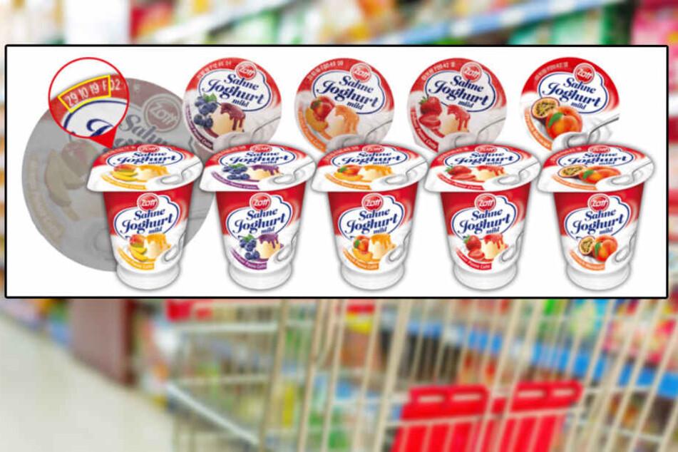 Die Molkerei Zott ruft vorsorglich mehrere Sahnejoghurts zurück. (Montage)