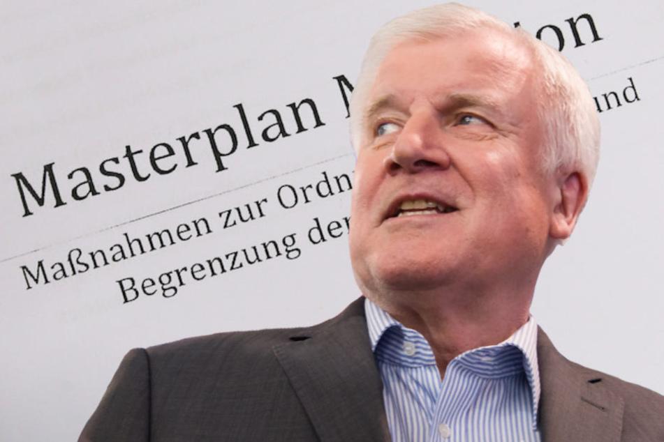 """Bundesinnenminister Horst Seehofer (69, CSU) kündigte am Dienstag eine """"Asylwende"""" an."""