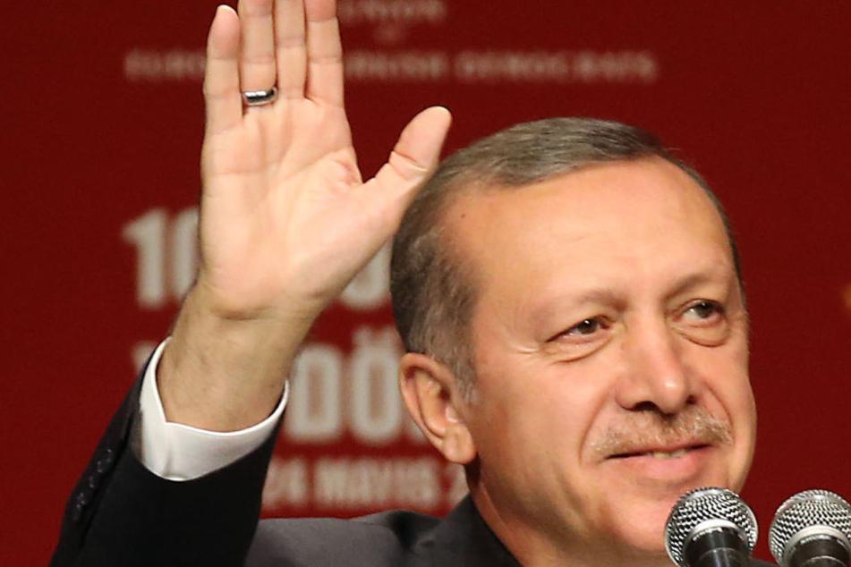 Recep Tayyip Erdogan (64) kommt Ende September nach Köln.
