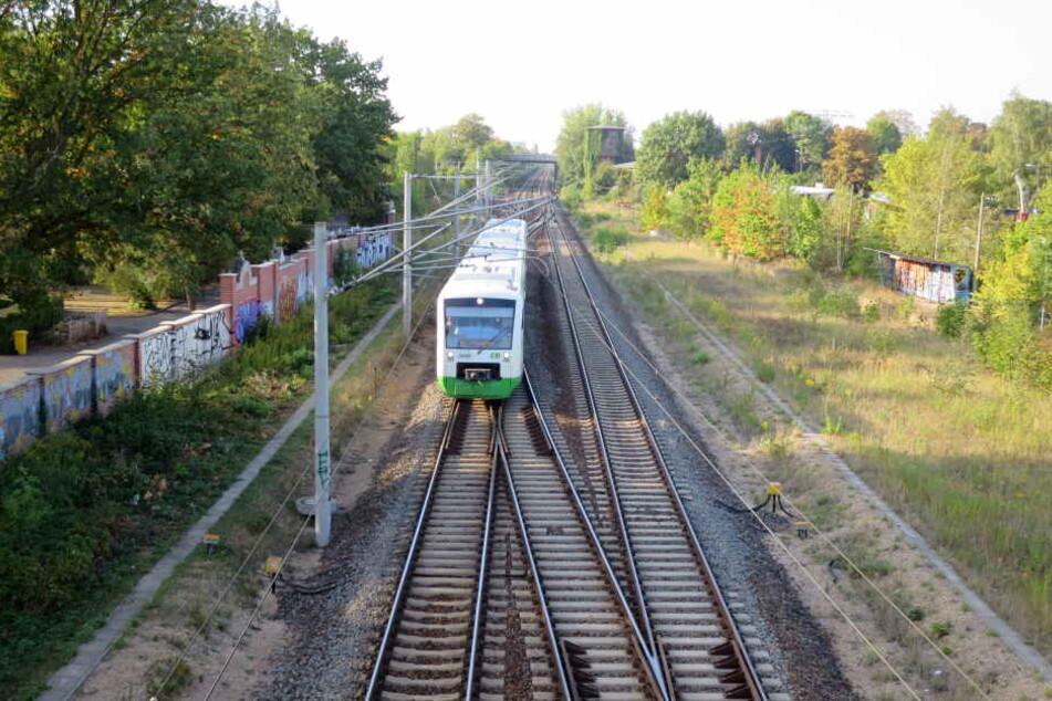 Auf dieser Strecke war der Güterzug am Montagabend unterwegs.
