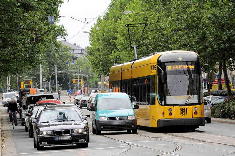 Gilt bald Tempo 30 auf der Bautzner Straße?