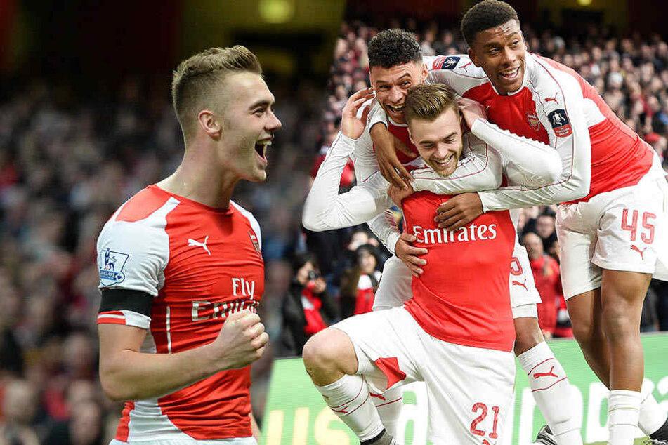 Rechtsverteidiger Calum Chambers steht noch bis 2020 beim FC Arsenal unter Vertrag, könnte aber für 15 Millionen Euro wechseln.