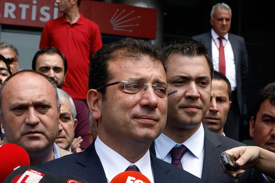Ekrem Imamoglu hat die Bürgermeister-Wahl gewonnen. Nun soll sie wiederholt werden - weil Erdogan es so will.