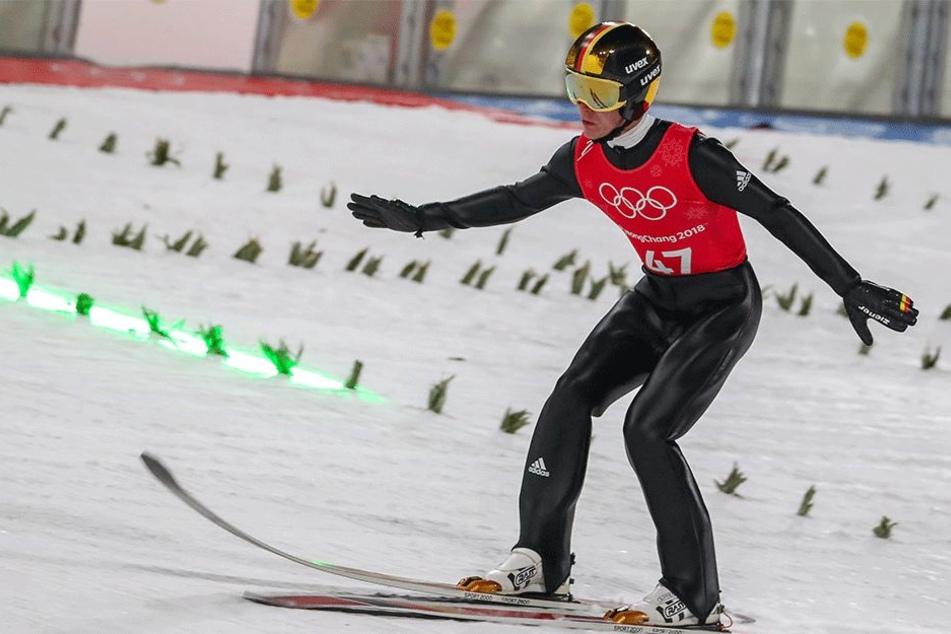 Silbermedaille für unsere deutschen Skispringer bei Olympia
