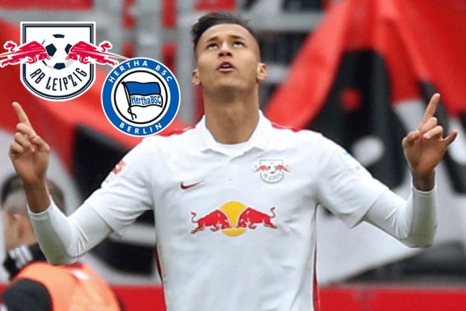 Ab in die Hauptstadt! RB-Stürmer Davie Selke wechselt zu Hertha BSC