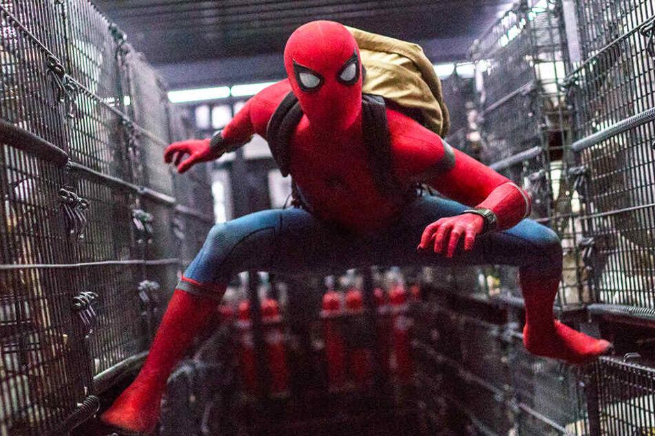 Spider-Man (Tom Holland) bekommt es in Europa mit harten Gegnern zu tun.
