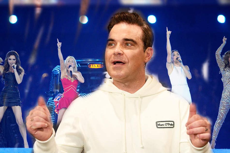 Geheime Sex-Beichte: Diese Spice Girls hat Robbie Williams wirklich flachgelegt