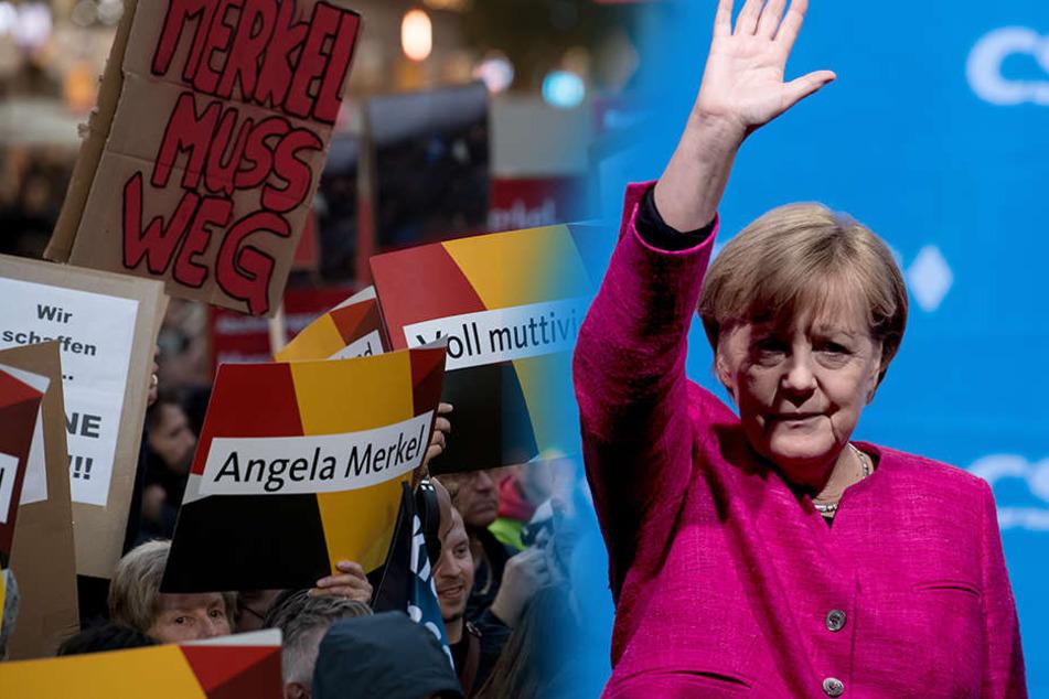 Gestört wurde die Kundgebung auf dem Marienplatz von einem massiven Pfeifkonzert und Sprechchören von Unions-Kritikern von links und rechts.