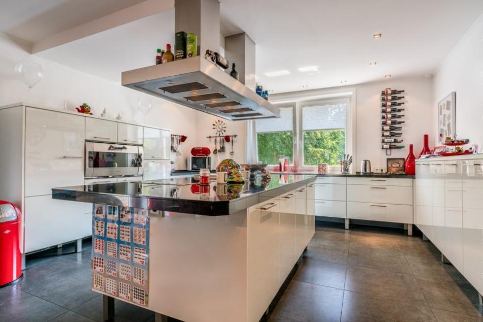 Die Designer-Küche.
