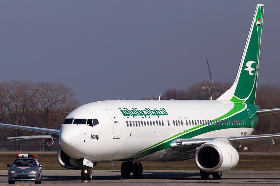 Die irakische Verkehrsministerium untersucht nun den Vorfall, der sich in einer Maschine von Iraqi Airways. (Symbolbild)